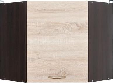 BRW Kuchyňská skříňka rohová Junona Line GNWU/57-LP dvířka Bílý lesk/korpus bílý