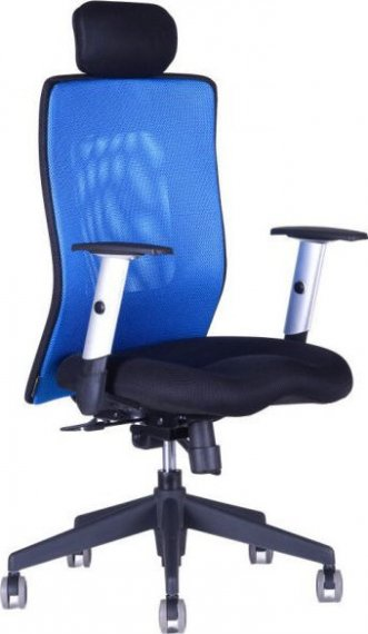 Office Pro Kancelářská židle Calypso XL s fixním podhlavníkem