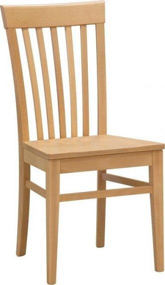 Stima Dřevěná židle K2 masiv Bílá