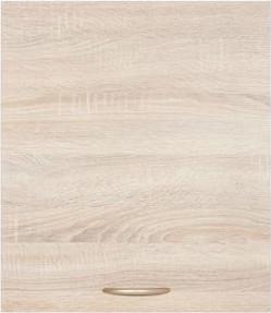 BRW Kuchyňská skříňka Junona Line G1D/50/57-LP dvířka Bílý lesk/korpus bílý