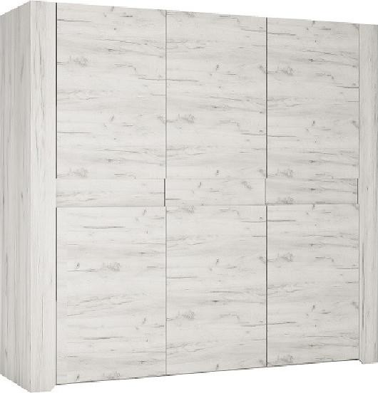 Tempo Kondela Skříň ANGEL Typ 22 3D - bílá craft + kupón KONDELA10 na okamžitou slevu 3% (kupón uplatníte v košíku)