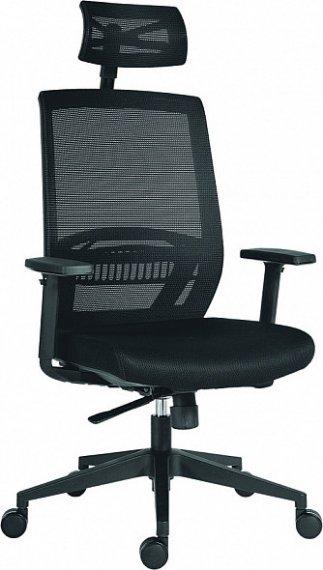 Antares Kancelářská židle Above vínová síťovina / černá látka