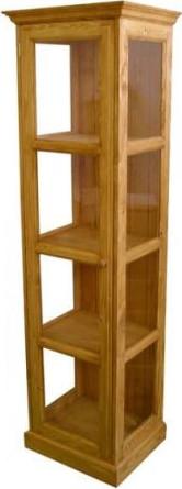 Unis Dřevěná vitrína Classic jednoduchá 00706