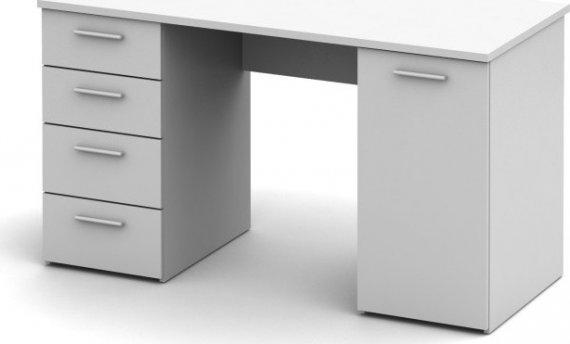 Tempo Kondela  stůl EUSTACH - bílý