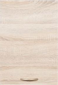 BRW Kuchyňská skříňka Junona Line G1D/40/57-LP dvířka Bílý lesk/korpus bílý