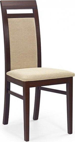 Halmar Jídelní židle Albert Ořech tmavý/TORENT BEIGE