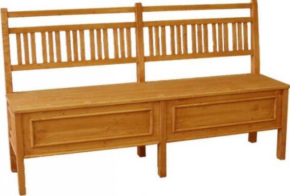 Unis Dřevěná lavice Classic 00512