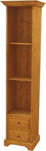 Unis Dřevěná skříň vysoká policová 00172