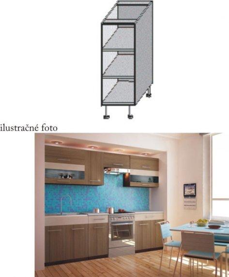Tempo Kondela Kuchyňská skříňka JURA NEW I DO-20 + kupón KONDELA10 na okamžitou slevu 10% (kupón uplatníte v košíku)