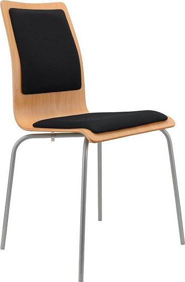 Alba Konferenční židle Lilly čalouněná Čalouněný sedák i opěrák