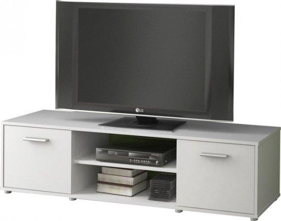 Tempo Kondela TV stolek ZUNO 01 - bílá + kupón KONDELA10 na okamžitou slevu 10% (kupón uplatníte v košíku)