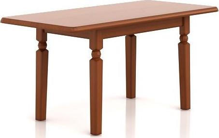 BRW Jídelní stůl Natalia STO160 Modřín sibiu světlý