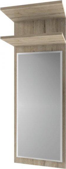 Tempo Kondela Panel se zrcadlem Orestes 45 - dub san remo + kupón KONDELA10 na okamžitou slevu 10% (kupón uplatníte v košíku)