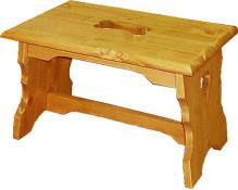 Unis Dřevěná židle 00525 stolička malá