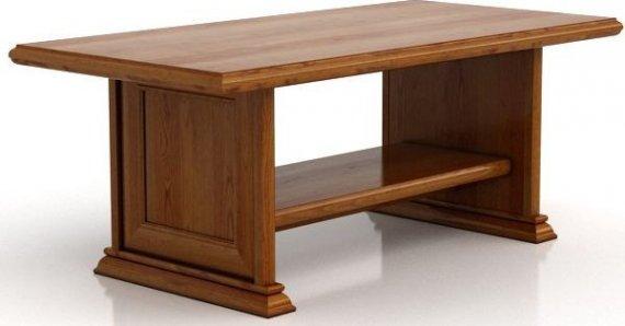BRW Konferenční stolek Kent ELAW130 Kaštan