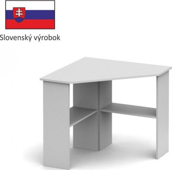 Tempo Kondela PC stůl RONY NEW - bílý + kupón KONDELA10 na okamžitou slevu 10% (kupón uplatníte v košíku)
