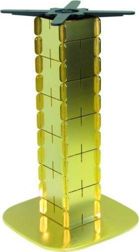 Kovtrading Stolová podnož FK001-GOLD