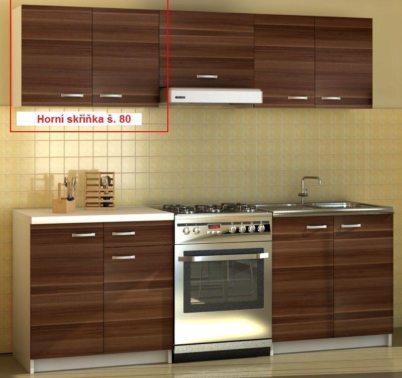 Halmar Kuchyňská skříňka Sonia - horní skříňka š. 80 cm