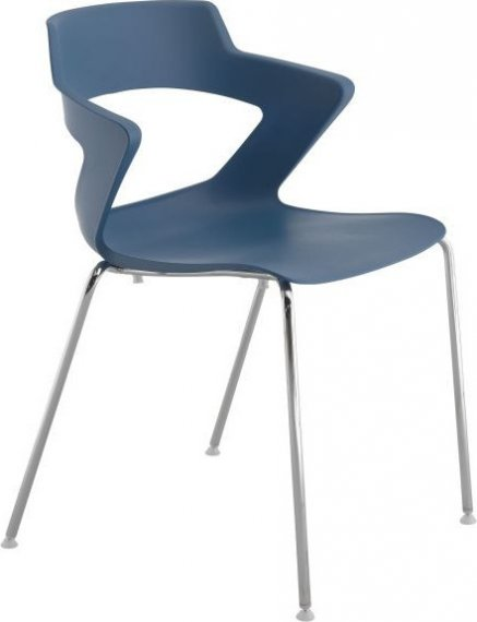 Antares Konferenční židle 2160 PC Aoki - nečalouněná Bílá