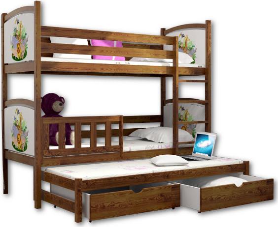 Vomaks Patrová postel s přistýlkou PPV 005 - 1222/BAR20
