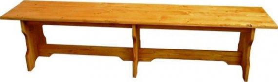 Unis Dřevěná lavice bez opěradla 00533