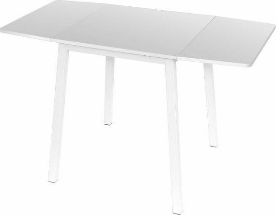 Tempo Kondela Rozkládací jídelní stůl MAURO - bílý + kupón KONDELA10 na okamžitou slevu 10% (kupón uplatníte v košíku)