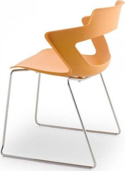 Antares Konferenční židle 2160/S PC Aoki - nečalouněná Bílá