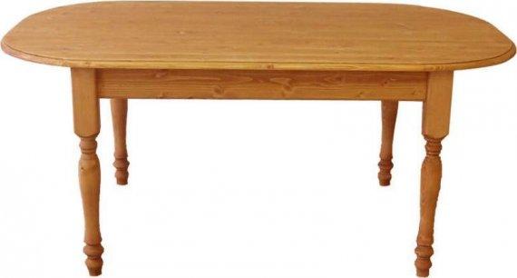 Unis Stůl dřevěný 00443 oválný