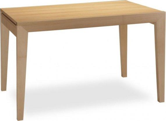 MIKO Jídelní stůl Ancona x120/140 - bílý