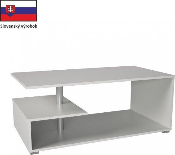 Tempo Kondela Konferenční stolek DORISA - bílá