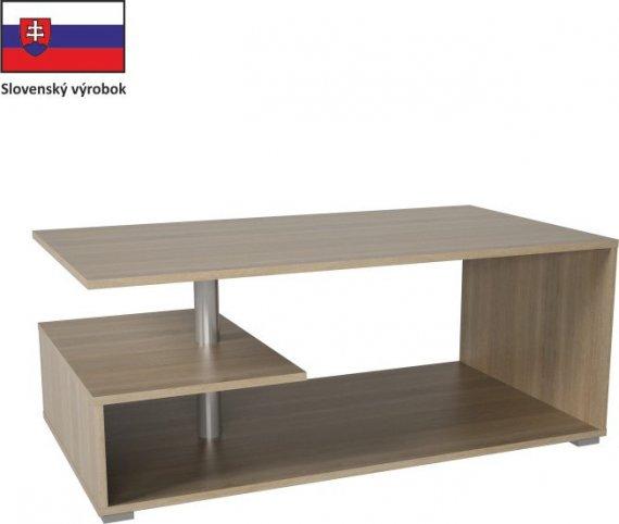 Tempo Kondela Konferenční stolek DORISA - dub sonoma + kupón KONDELA10 na okamžitou slevu 10% (kupón uplatníte v košíku)