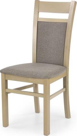 Halmar Jídelní židle Gerard 2 ořech tmavý/TORENT BEIGE
