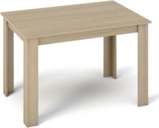 Tempo Kondela Jídelní stůl KRAZ 120x80 - dub sonoma + kupón KONDELA10 na okamžitou slevu 10% (kupón uplatníte v košíku)