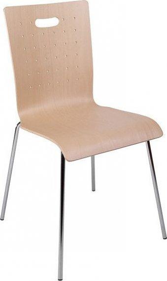 Alba Konferenční židle Tulip - dřevěná