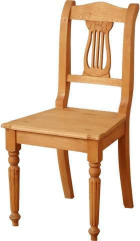 Unis Dřevěná židle Lyra 00503