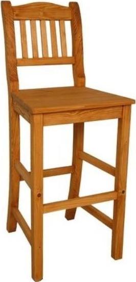 Unis Barová dřevěná židle Dona 00538