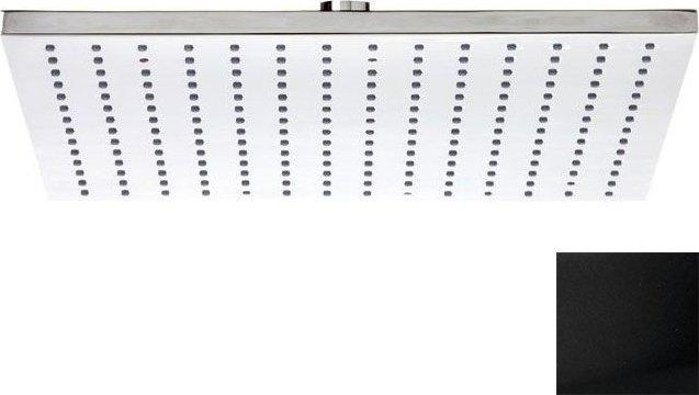 Hlavová sprcha, 300x300mm, černá mat SF315