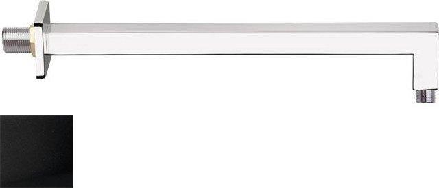 Sprchové ramínko hranaté, 400mm, černá mat BR315