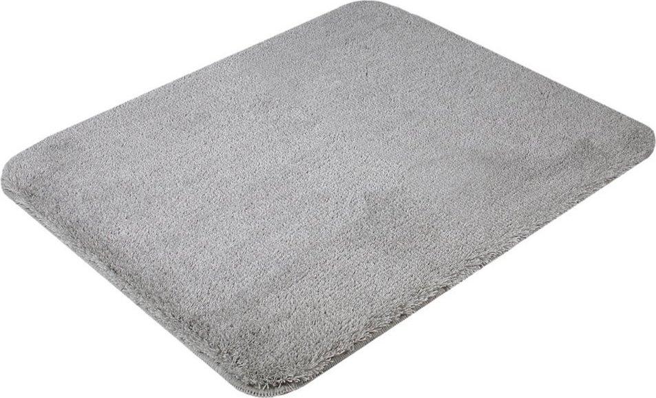 SAVANA předložka 50x60cm s protiskluzem, akryl, šedá SU3-189