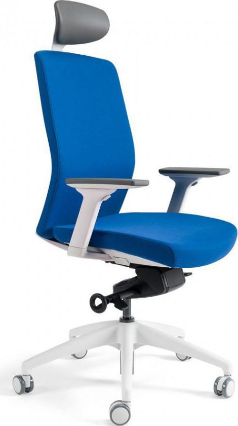 Office Pro Kancelářská židle J2 WHITE SP - tmavě modrá 211