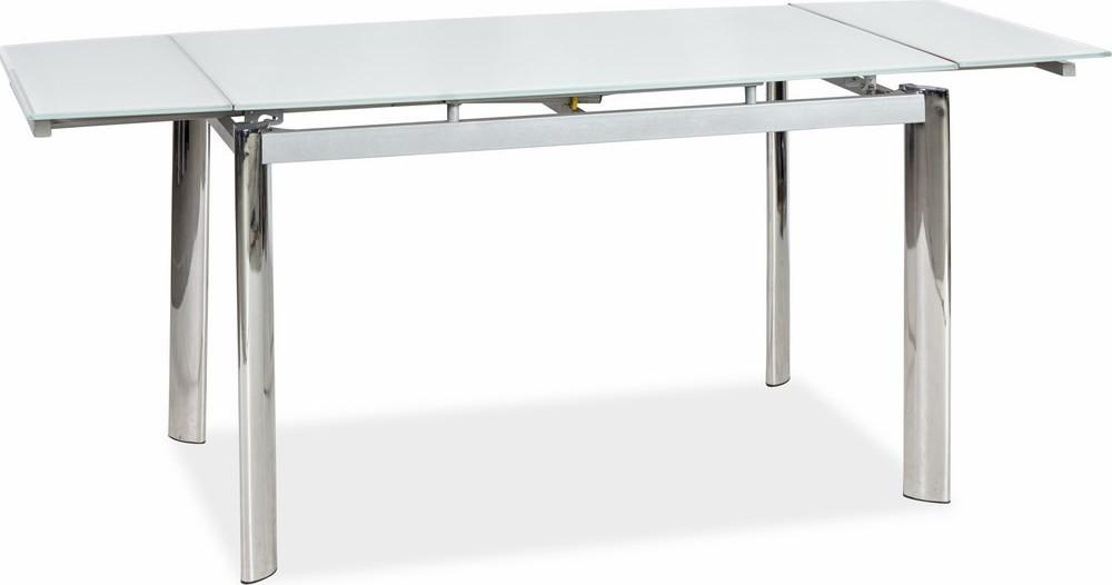 Casarredo Jídelní stůl GD-020 rozkládací bílý