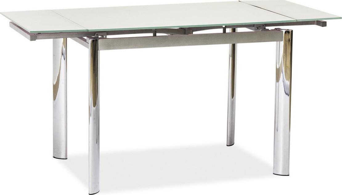 Casarredo Jídelní stůl GD-019 rozkládací bílý