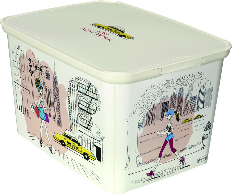 Curver Box DECOBOX - L - Miss New York