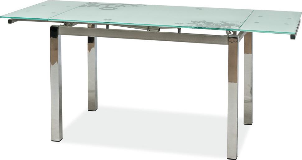 Casarredo Jídelní stůl GD-017 rozkládací bílý