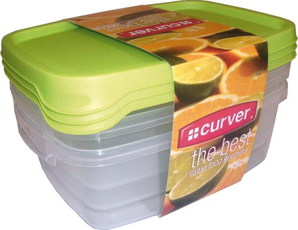 Curver Set dóz TAKE AWAY FOODK 3x1,2L - MIX