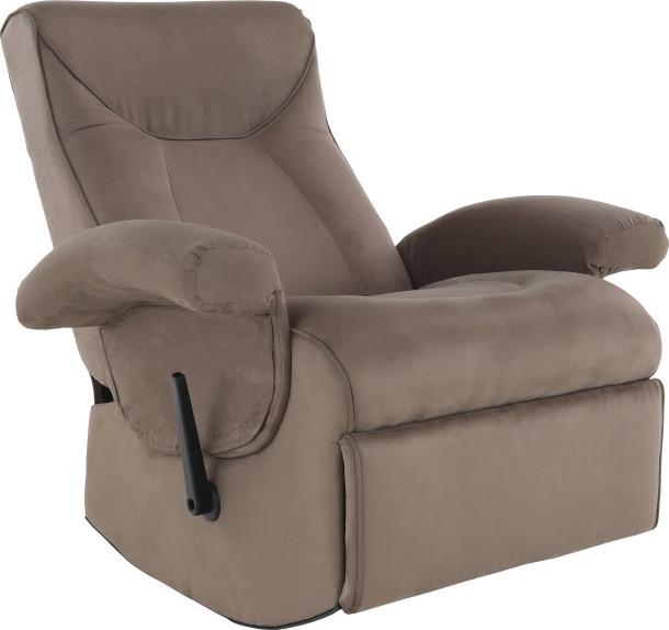 Tempo Kondela Relaxační křeslo SUAREZ - šedo  + kupón KONDELA10 na okamžitou slevu 3% (kupón uplatníte v košíku)