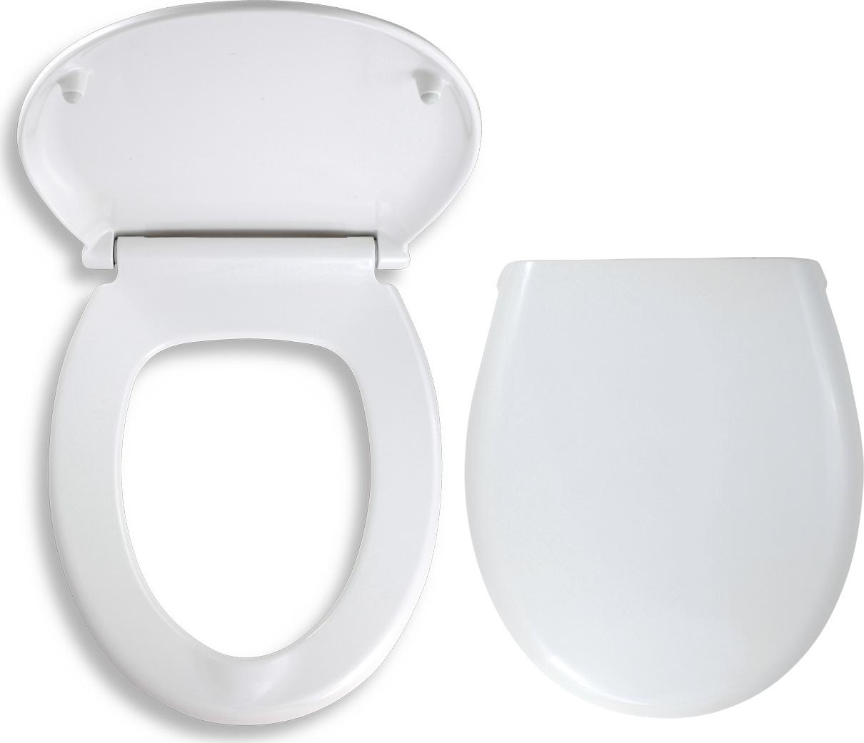 Novaservis Sedátko duroplast bílá WC/SOFTDPLAST