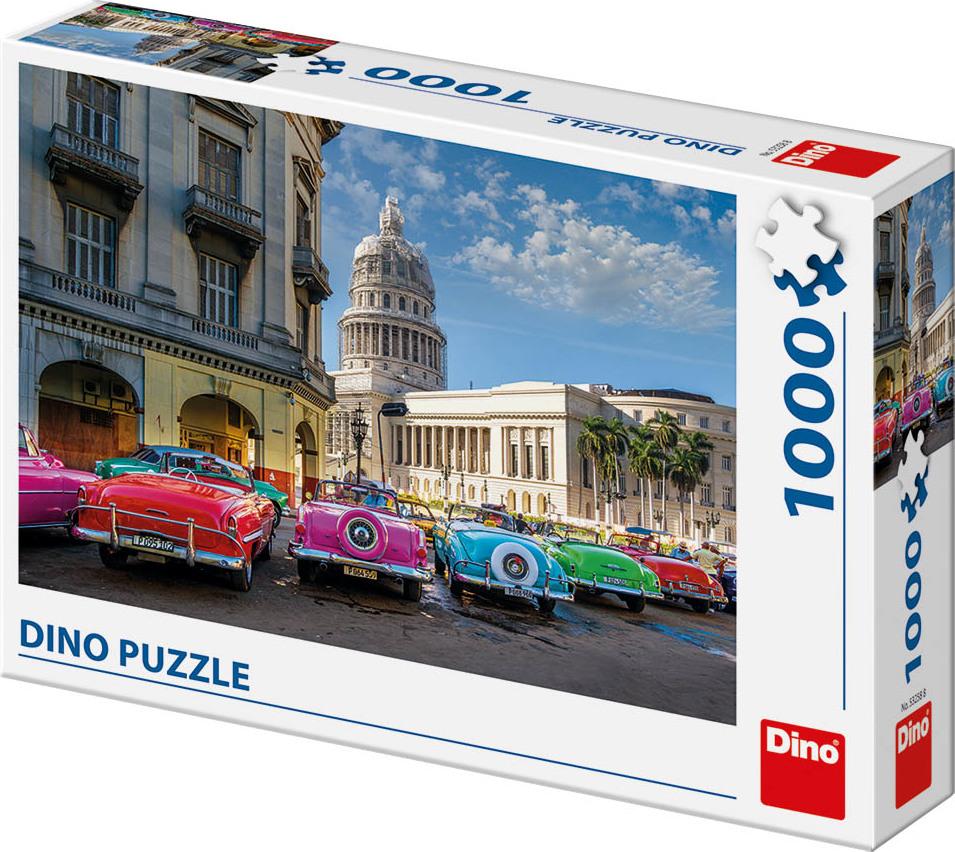 DINO Puzzle Veteráni na Kubě 1000 dílků