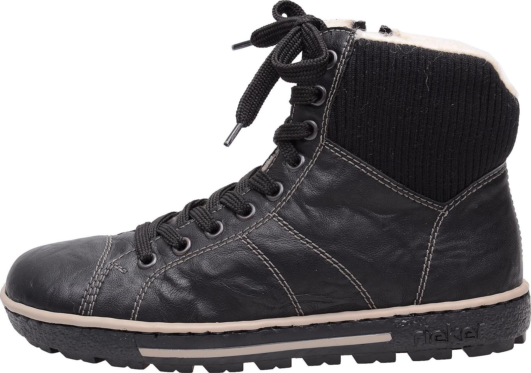 Dámská obuv RIEKER Z8732 00 SCHWARZ H W 6 – BOTY RIEKER 48ccc57239