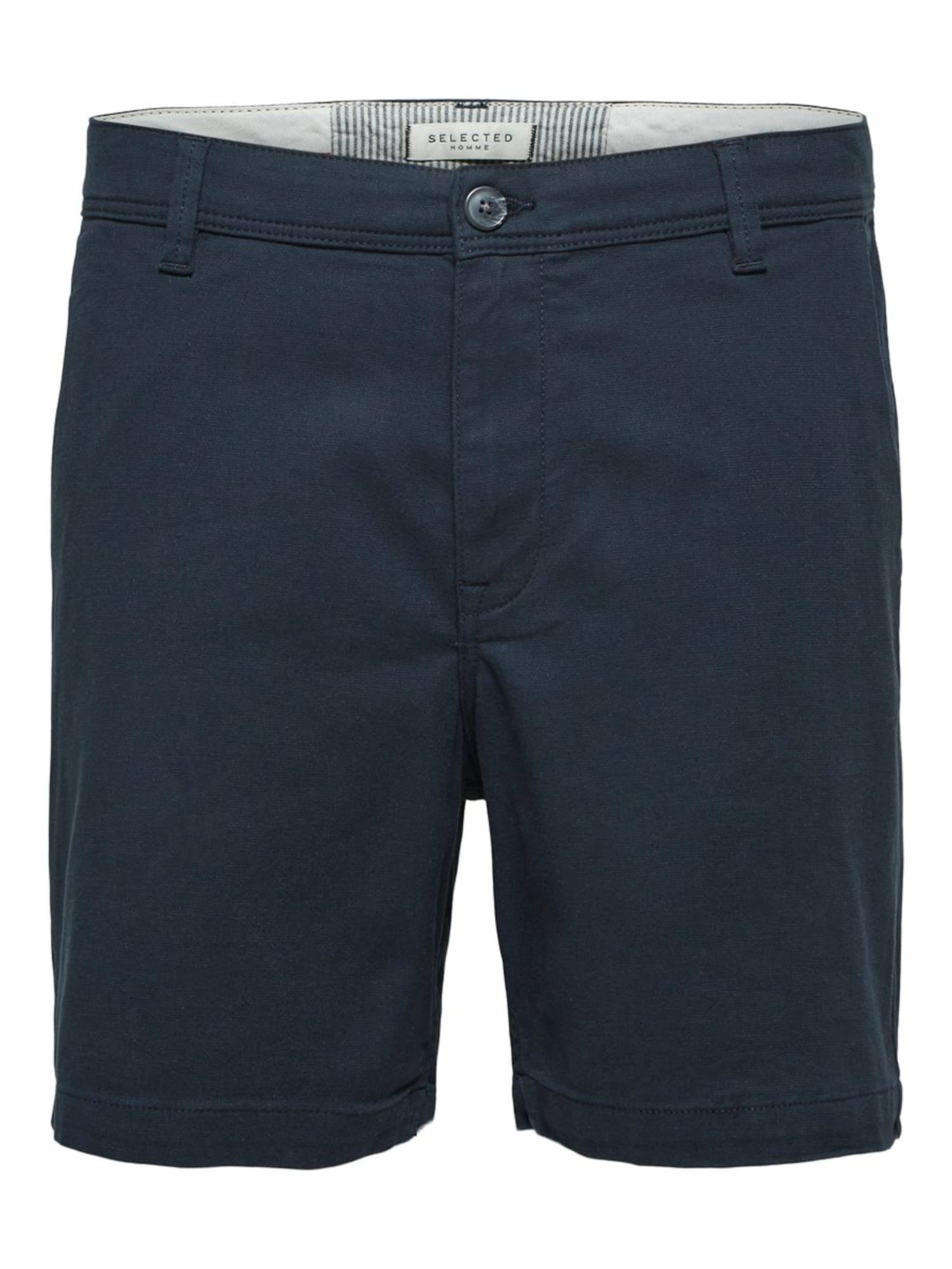 SELECTED HOMME Chino kalhoty tmavě modrá Selected Homme
